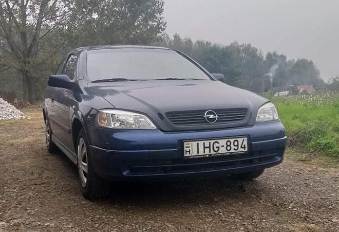 Opel Astra G szemelyauto berles debrecen